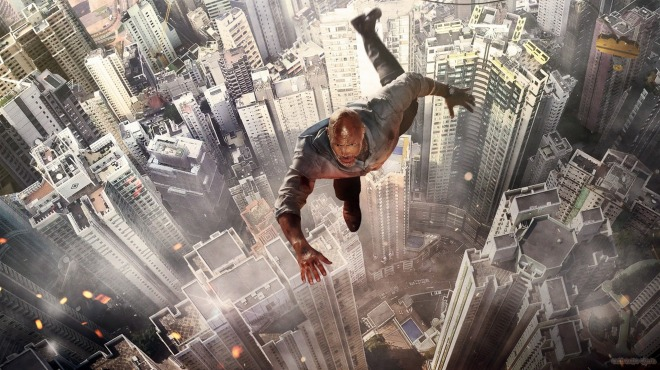 2018-Skyscraper-Dwayne-Johnson-Poster-Wallpaper-1366x768
