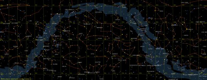 skymap_rectangular_projection