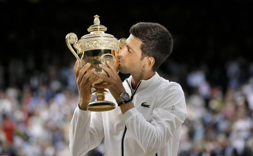 Djokovic vence a Federer enInglaterra