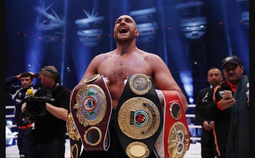 Tyson Fury campeón de los pesospesados