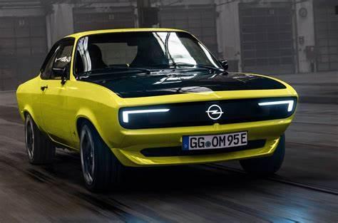 Opel Manta GSeElektroMOD